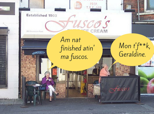 Am nat finished atin' ma fuscos.