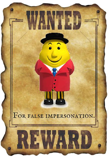For false impersonation.
