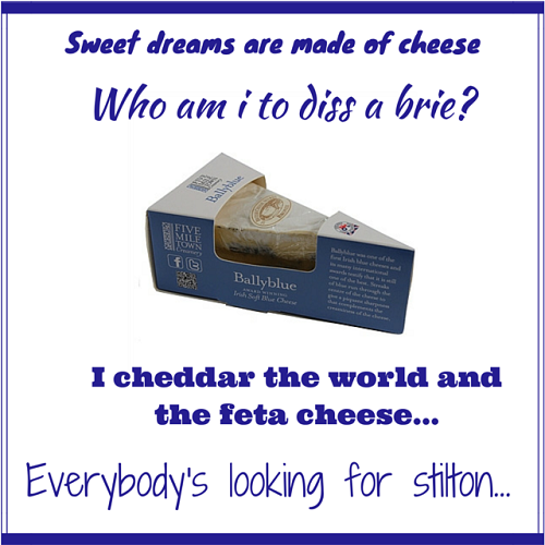 Sweet dreams are  made of cheese (1)