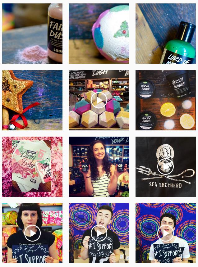 lush belfast instagram